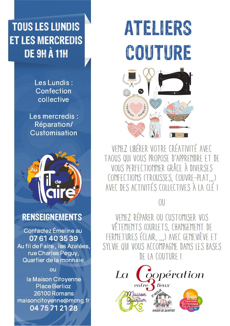 20191007 affiche atelier couture